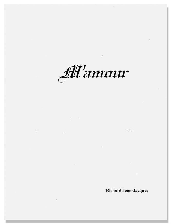 M'amour, poèmes de Jean-Jacques Richard