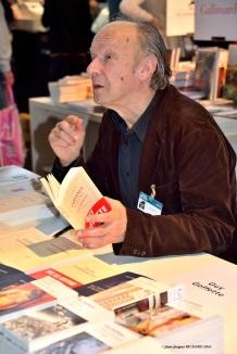 Guy GOFFETTE stand Gallimard