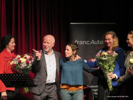 IMG_1404 jjr Francauteurs 2019#Marie-Sophie Talbot#Hughes Maréchal#Géraldine Cozie#Ilia#Karin Clercq#Sarah Klenes